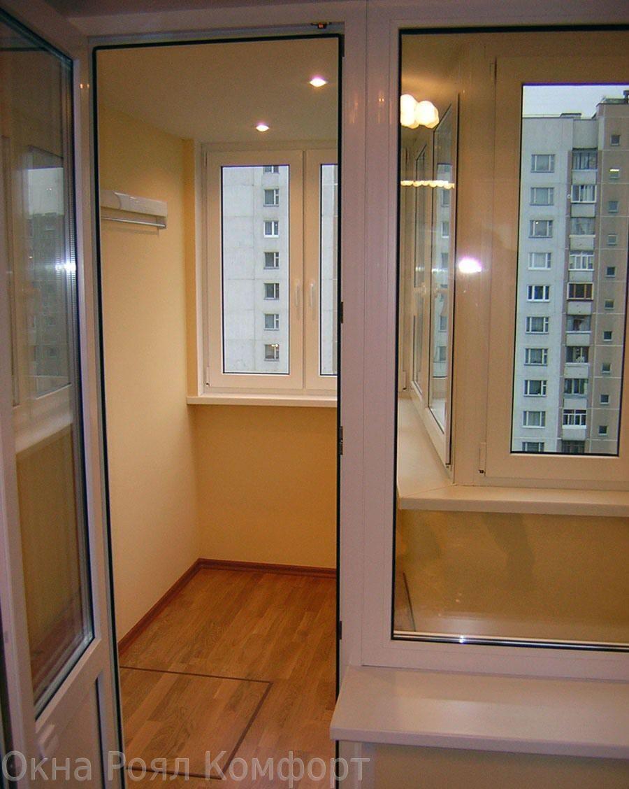 Балконы под ключ п3 16. - галерея работ утепление - каталог .