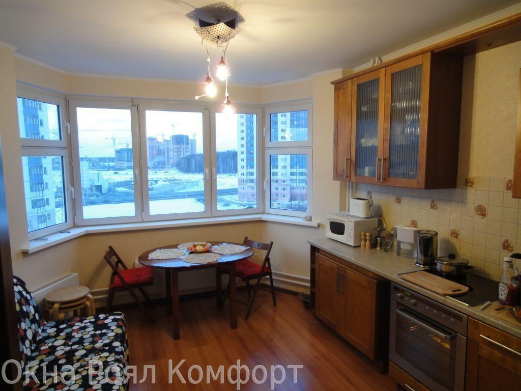 соединение балкона с кухней