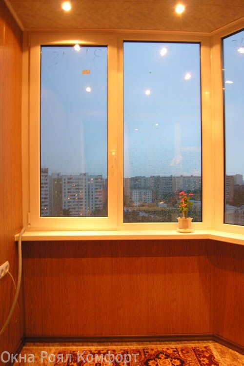 Объединение балкона с комнатой п44к.