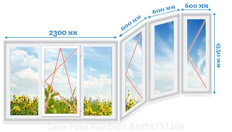 Окна пвх* - остекление и отделка лоджий. качество, гарантии..