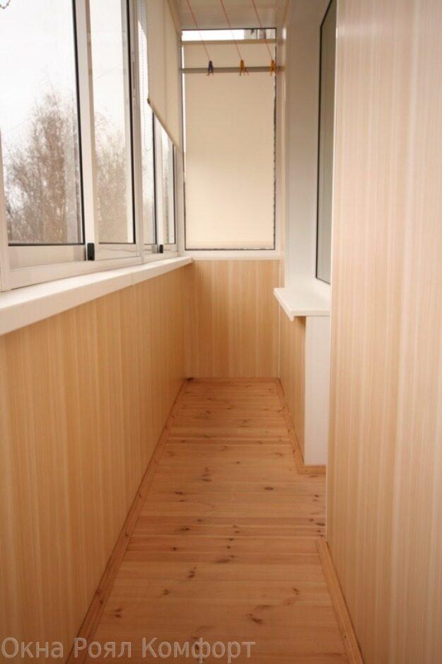 Чем обшить балкон внутри: особенности внутренней отделки.