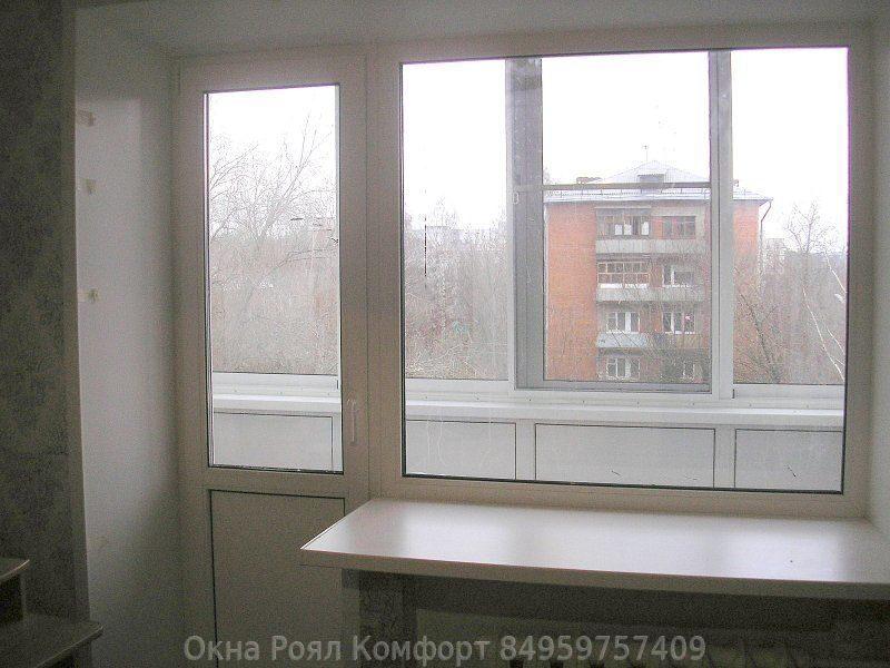 Окна пвхна балконе хрущевке фирма панорама. - ремонт окон дв.