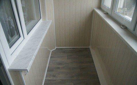 Остекление балконов в доме серии 16-05.