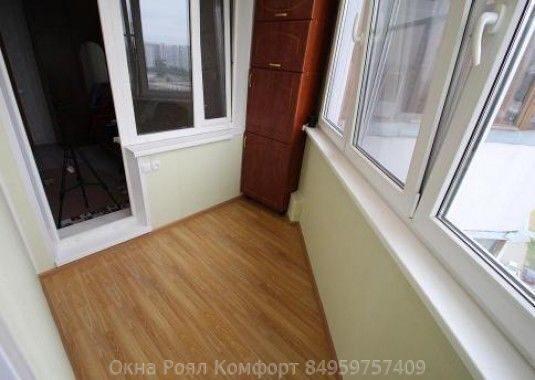 Остекление балконов в пушкино.