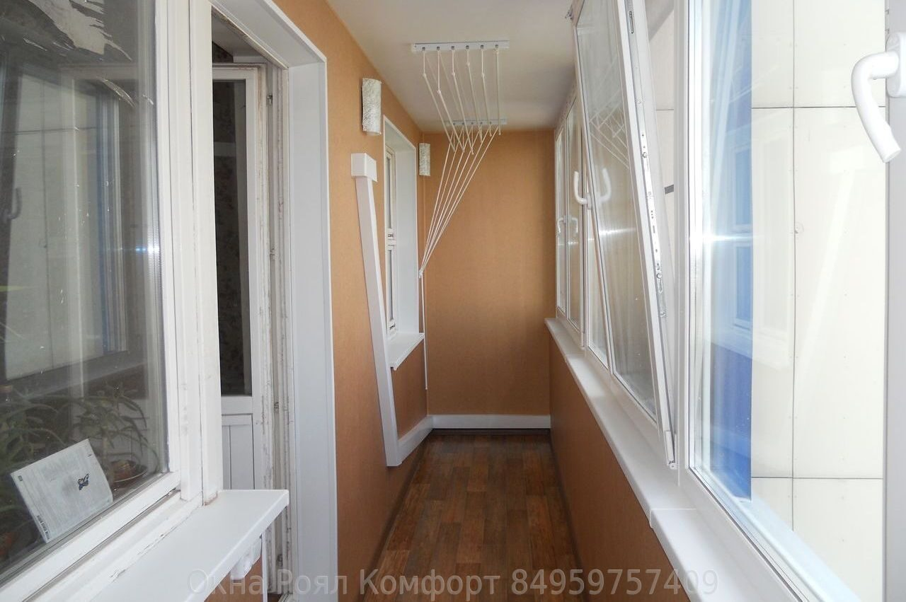 Остекление лоджии 6 метров в типовых домах москвы и подмоско.