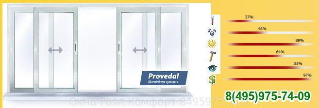 Разновидность раздвижных окон на балкон (пластиковые или алю.