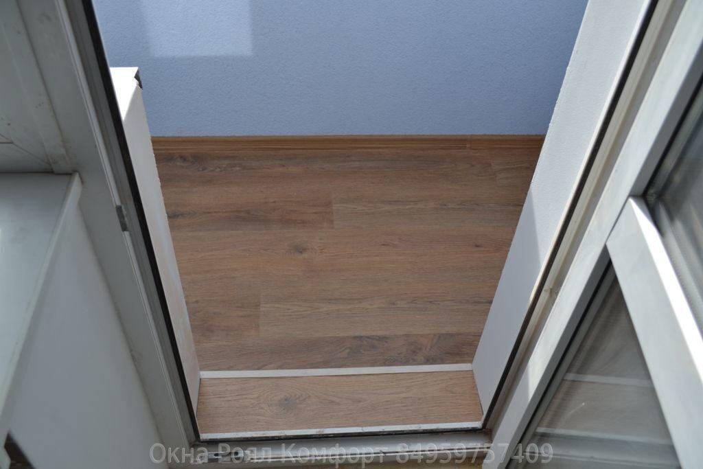 Остекление балконов и лоджий в домах серии и-209а.