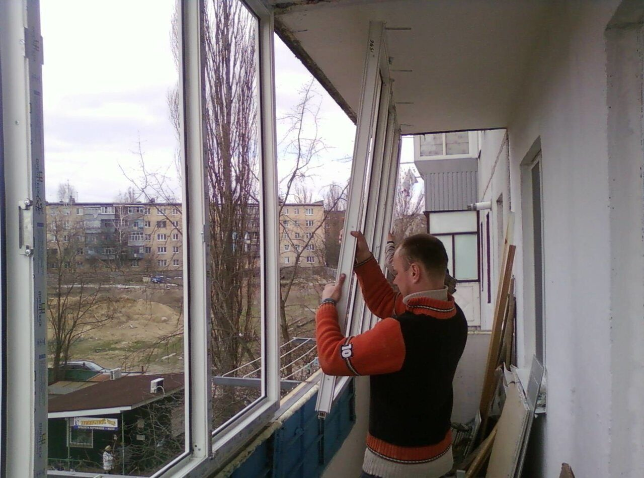 Пластиковое окно для балкона установка своими руками
